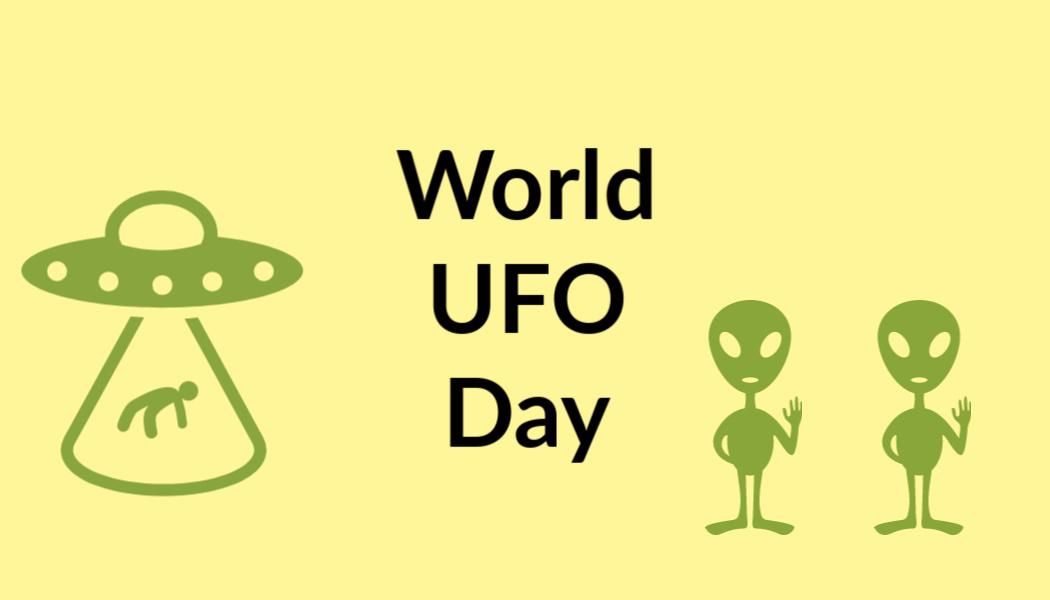 Celebrating UFO Day