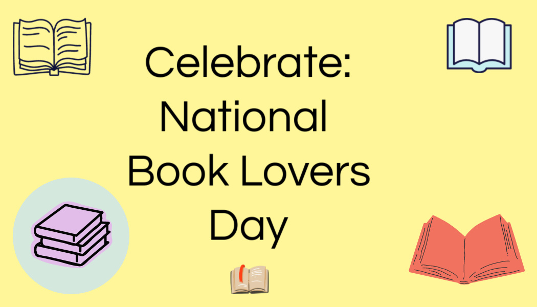 Celebrate National Book LoversDay