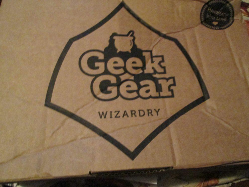 Personal Review: September's Geek Gear WizardryBox