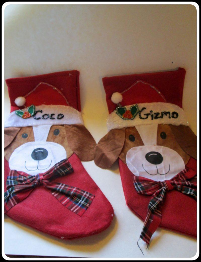Simple Christmas Stockings for YourDog