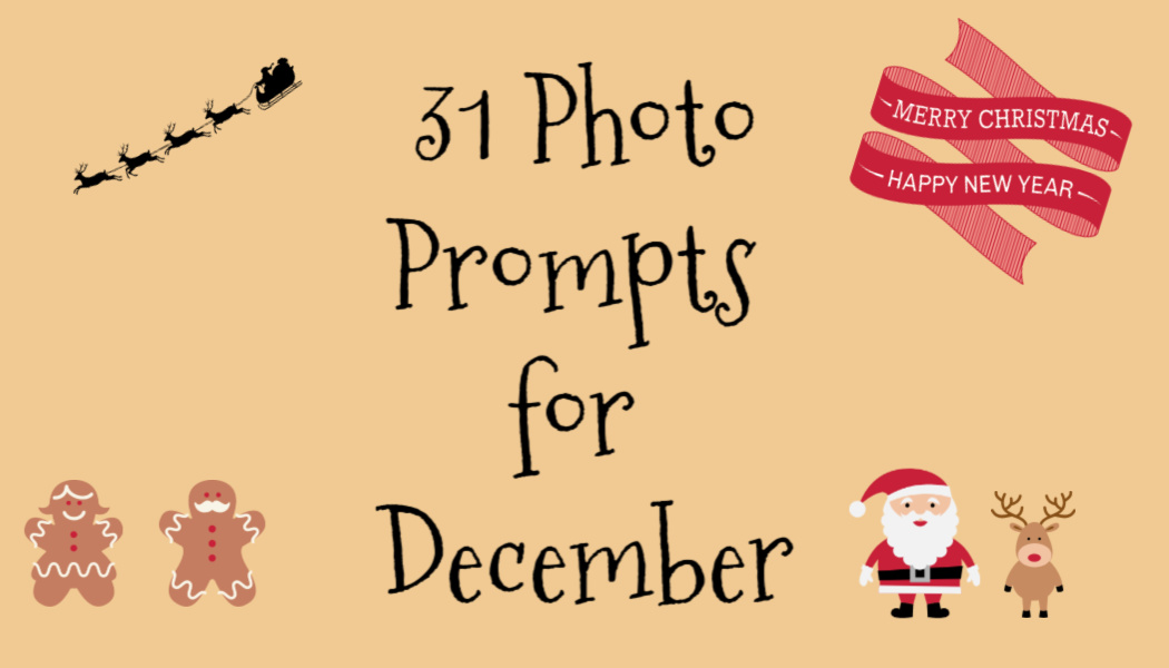 31 Photo Prompts forDecember