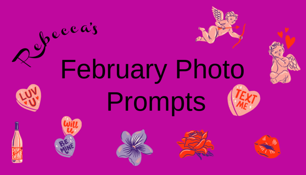 Rebecca's February Photo Prompts