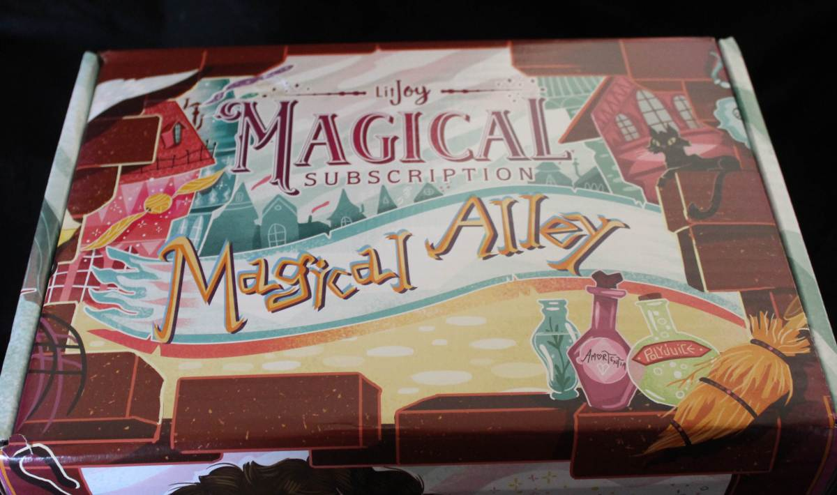 Rebecca Reviewed It: LitJoy Subscription Box-Magical Alley