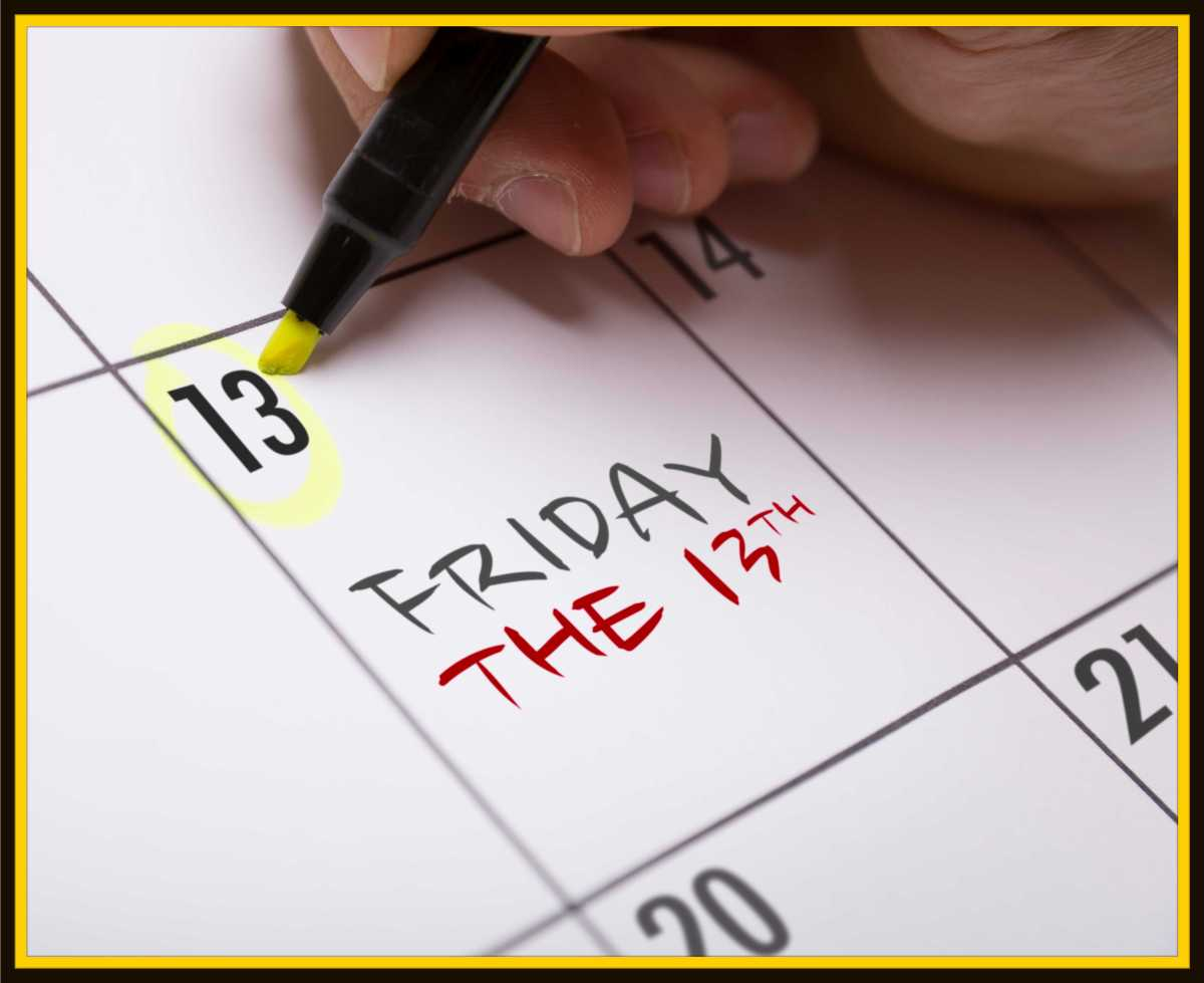 It's Here Again–Friday the13th