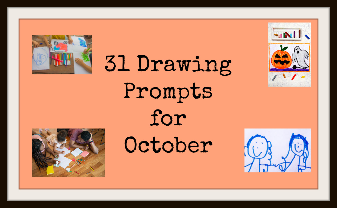 31 Drawing Prompts forOctober