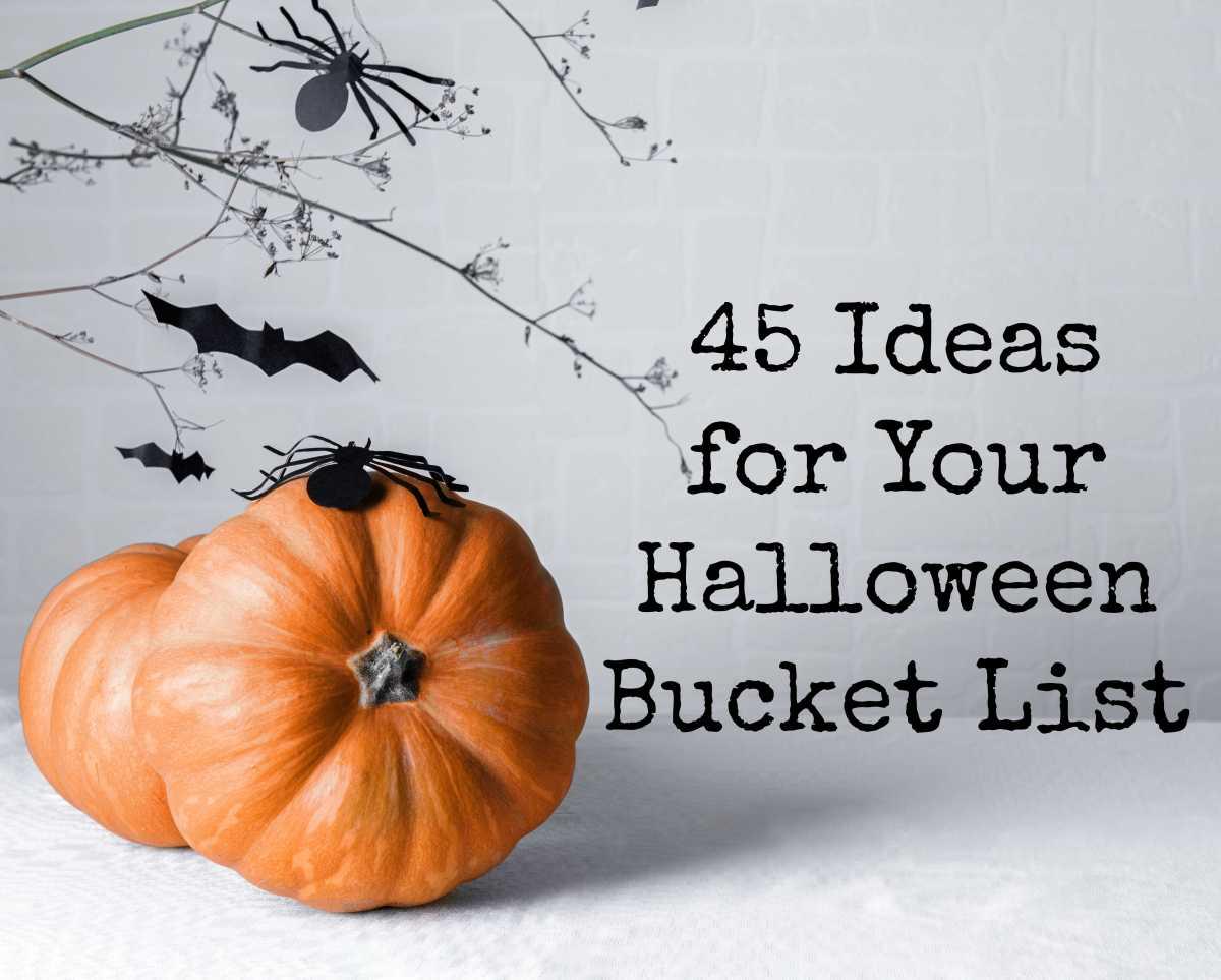 45 Ideas for Your Halloween BucketList