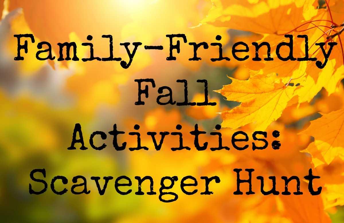 Family-Friendly Fall Activities: ScavengerHunt