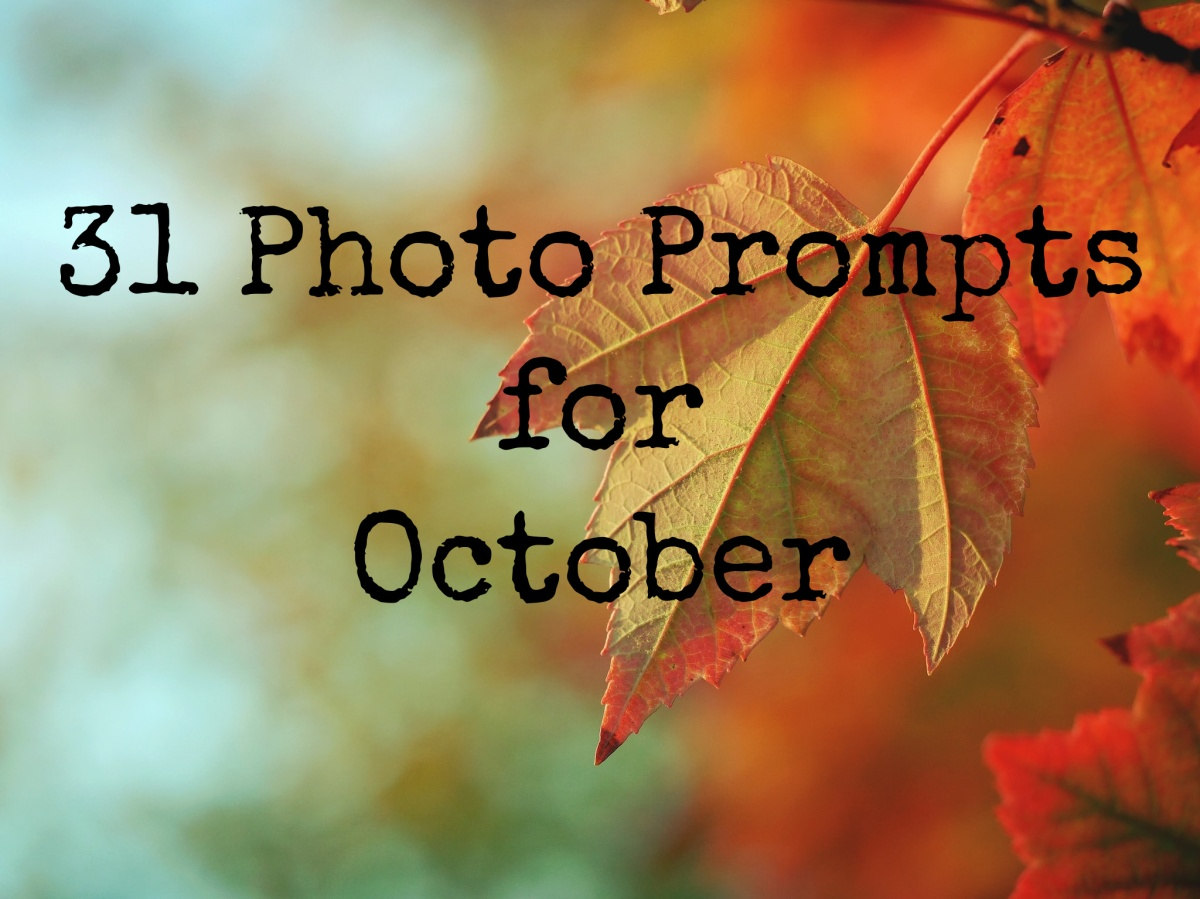 31 Photo Prompts forOctober