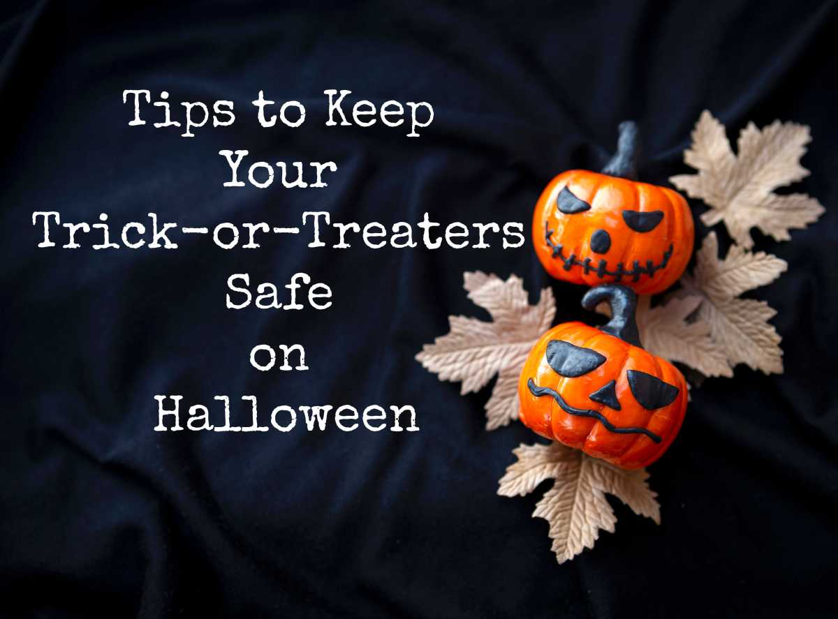 Tips to Keep Your Trick-or-Treaters Safe onHalloween