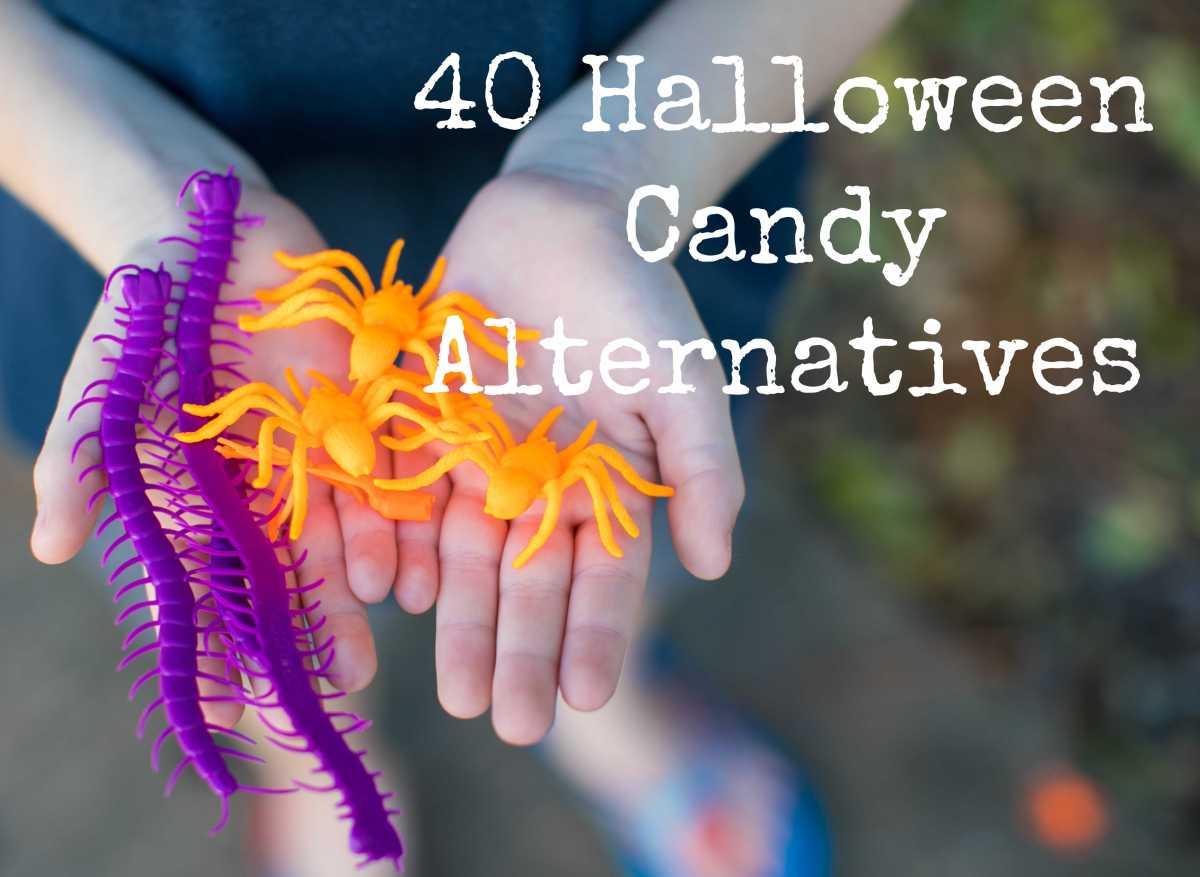 40 Halloween CandyAlternatives